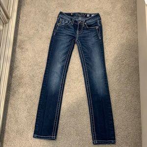 Never Worn designer Miss Me jeans